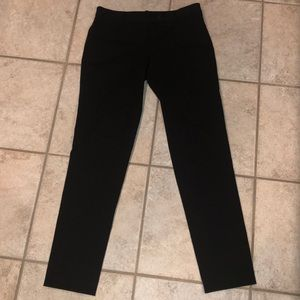 Theory black size 4 straight leg stretch trousers